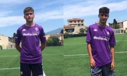 Leonardo Storri e Massimo Turella in prova alla Fiorentina