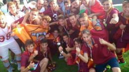 La Roma è campione d'Italia Giovanissimi Nazionali. Scamacca affonda la Juventus