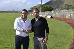 Il nuovo tecnico Fabio Celestini fa il suo ingresso al Colavolpe. Annunciati altri tre calciatori