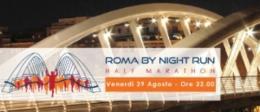 Venerdì sera la prima edizione di Roma by night run