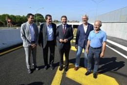 Inaugurato il sottopasso di via Tiburtina all'altezza di Settecamini
