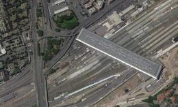 Tangenziale est: le due rampe sul piazzale ovest della stazione Tiburtina saranno abbattute