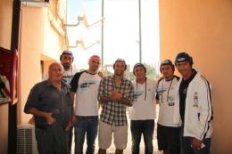 La Lazio di Pioli in acqua: Candreva e compagni incontrano i colleghi pallanuotisti