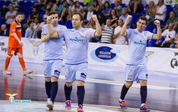 Lazio, pokerissimo al Kaos Futsal: doppiette di Corsini e Paulinho