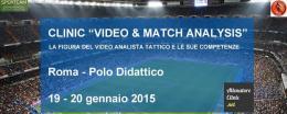 La tecnologia al servizio del calcio: a Roma due clinic per allenatori, preparatori e video analisti