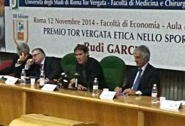 """A Rudi Garcia il premio """"Tor Vergata - Etica nello Sport"""""""