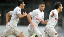 Pioggia, fango e Inter: Roma eliminata in semifinale