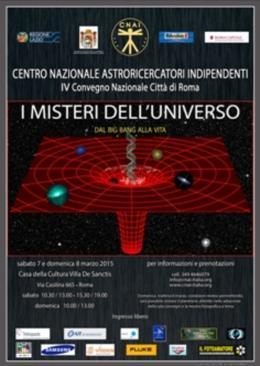 A Villa De Sanctis il convegno internazionale degli astroricercatori