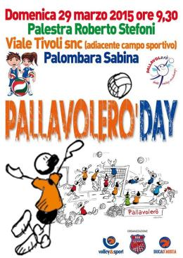 Domemica a Palombara il Pallavolerò Day