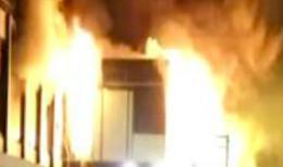 Incendio al Terminal 3 dell'Aeroporto di Fiumicino, voli sospesi
