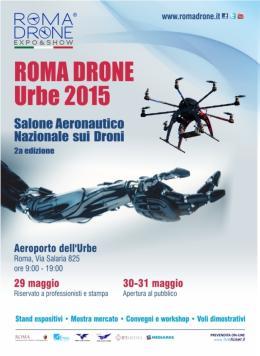 Roma diventa capitale europea dei droni