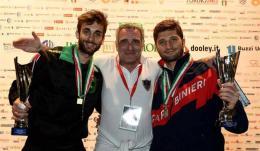 Frascati: Garozzo e Gregorio campioni d'Italia, Simoncelli e Salvatori di bronzo