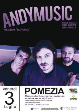 """Estate al museo, domani sera il concerto dell' """"Andy Music Trio"""""""
