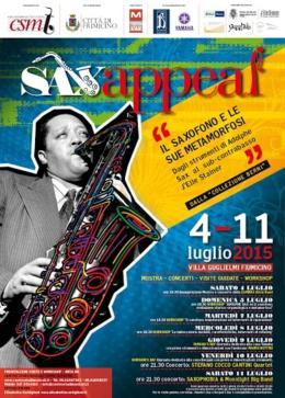 Dal 4 all'11 luglio Villa Guglielmi ospita Sax Appeal