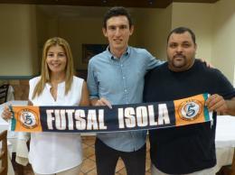 """Futsal Isola, Mentasti:""""Darò l'anima per la maglia orange"""""""