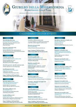 Definito l'inno ed il calendario ufficiale per l'Anno Santo della Misericordia