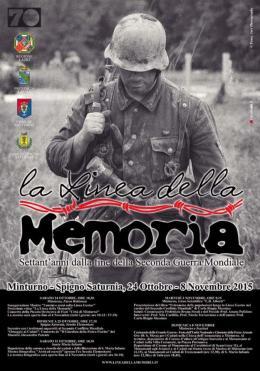 """""""La Linea della Memoria"""": domenica prossima la conclusione dell'evento a Minturno"""