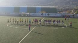 Formia di misura sulla capolista Calcio Sezze