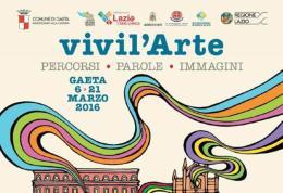 Oggi a Gaeta si inaugura la IV edizione di Vivi l'Arte 2016