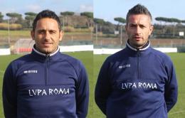 Il duo Di Michele - Quinzi alla guida della Lupa Roma