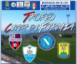 """Il 20 e 21 maggio c'è il """"Trofeo Città di Formia"""""""