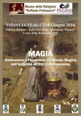 """Velletri: un appuntamento """"magico"""", a cura dell'Associazione Calliope"""