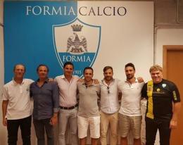 Il Formia vuole una grande stagione: ecco i quadri tecnici 2016/17