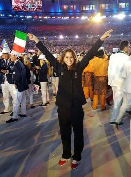 """Irene Vacchi sceglie Frascati: """"Qui un clima familiare"""""""