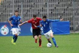 Under 17, verso l'Europeo: gol di Merola, buona la prima per l'Italia