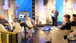 Sport in oro: Francesco Punzi e Pino Selvaggio in studio