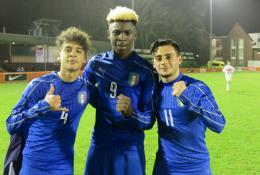 Europei: l'Italia parte bene, tre gol alla Bielorussia