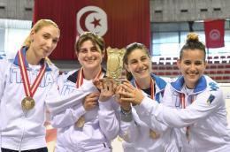 Sciabola - Frascati festeggia in CdM a Tunisi