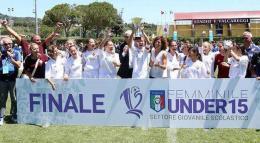 Roma Calcio Femminile, Under 15 campione d'Italia