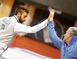 Frascati: tris di medaglie agli Europei: Garozzo è d'oro