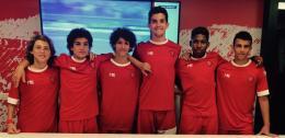 Dagli USA sei ragazzi in visita al Perugia Calcio