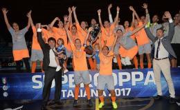 Triplete per l'Olimpus: superato il Montesilvano e mani sulla Supercoppa