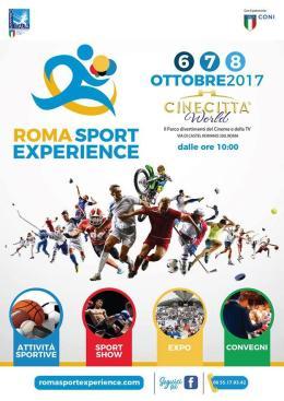 Roma Sport Experience: 3 giorni di sport per tutti!
