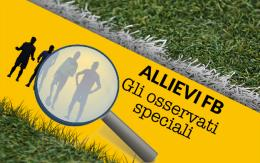 """Allievi FB si torna in campo. Ecco i cinque """"Osservati speciali"""""""