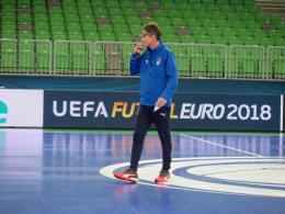 """C'è la Serbia, Menichelli: """"Determinazione ed entusiasmo"""""""