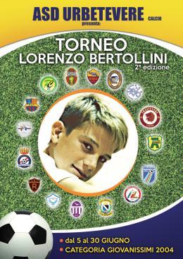2° Memorial Lorenzo Bertollini L'Urbetevere rinnova l'evento