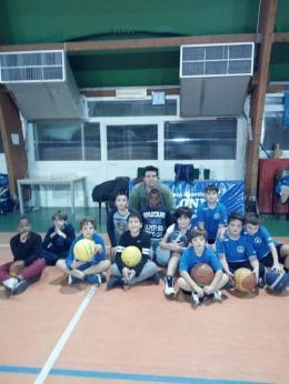 Il mini basket a Colonna nelle parole di coach Ranelletti
