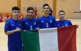 """Ciciotti, Filipponi, Palmegiani e Zaccardi: """"Una grande emozione"""""""