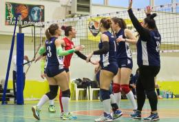 C - L'Andrea Doria torna al comando: Volley 4 Strade ko