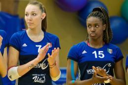 Petrini e Nwakalor in Azzurro: due gioielli del Volleyrò