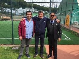 Nicola Antognetti - Atletico Roma: ecco il post Corbo