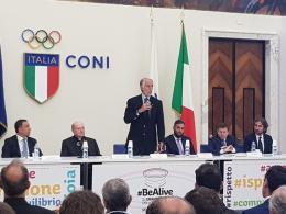 Presentato il #BeAlive al Salone d'Onore del CONI