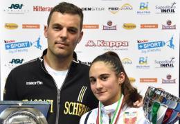 Lucia Lucarini regina d'Italia: oro Giovani, argento Cadetti