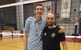 Andrea Orlando e lo scudetto: il saluto al Volley Team