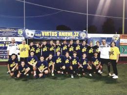 Aniene 3Z: Zaccardi alla guida di U19 e U17, Fazio all'U15