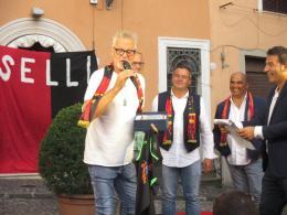 Presentata la Vjs Velletri. Special guest Stefano Tacconi